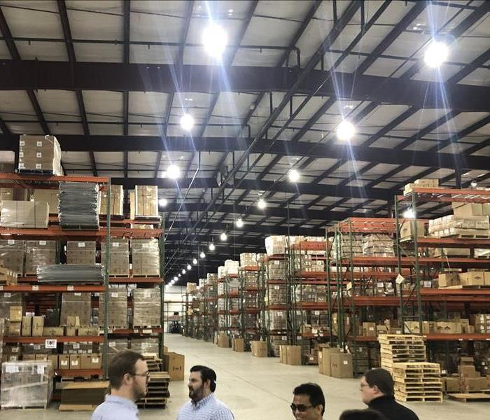Equipment Inventory in Warehouse